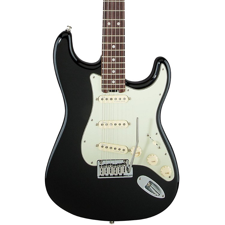 Fender American Elite Rosewood Stratocaster Electric Guitar Mystic Black