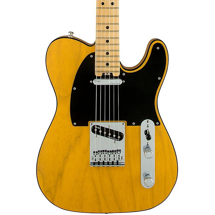 Fender American Elite Telecaster Maple Fingerboard Electric Guitar Aged Cherry Burst