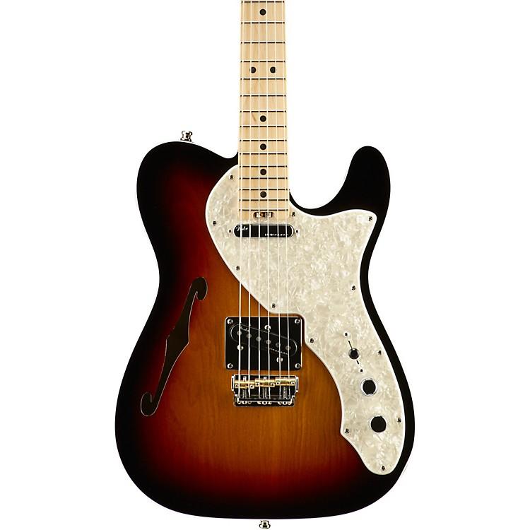 FenderAmerican Elite Telecaster Thinline Maple Fingerboard Electric GuitarMystic Blue
