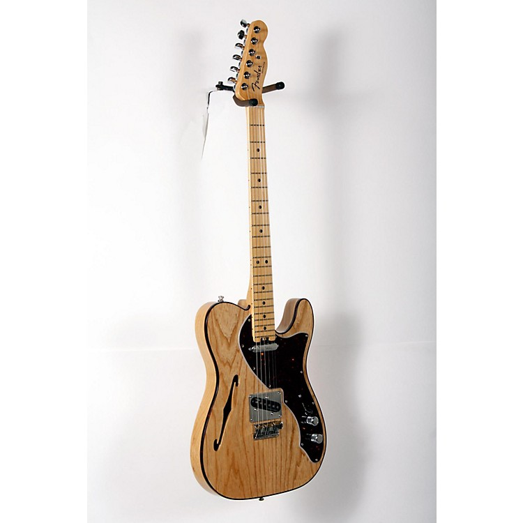 Fender American Elite Telecaster Thinline Maple Fingerboard Electric Guitar Natural 888365903927