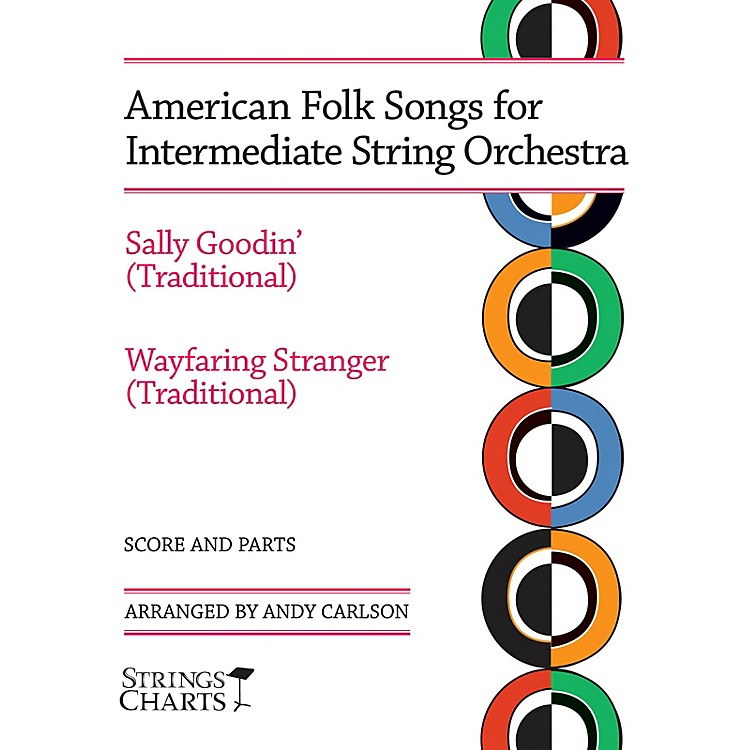 String Letter PublishingAmerican Folk Songs for Beginning String Orchestra String Letter Publishing Series by Andy Carlson