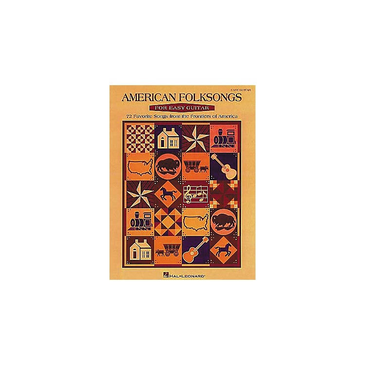 Hal LeonardAmerican Folksongs for Easy Guitar Book