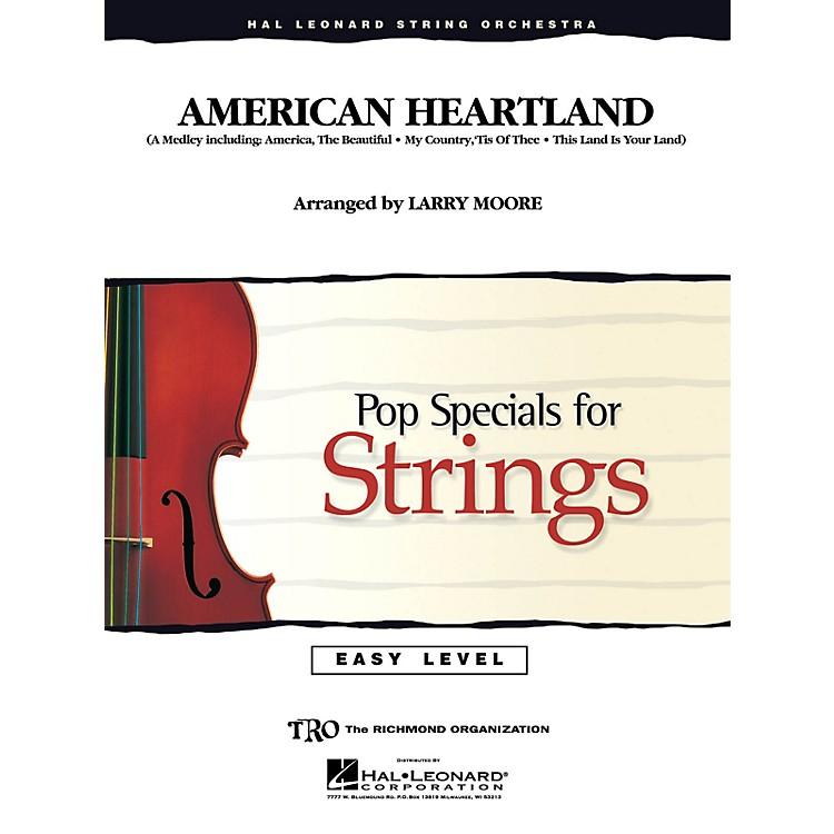 Hal LeonardAmerican Heartland Easy Pop Specials For Strings Series Arranged by Larry Moore