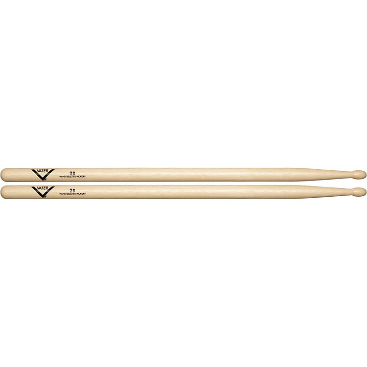 VaterAmerican Hickory 2B DrumsticksWood