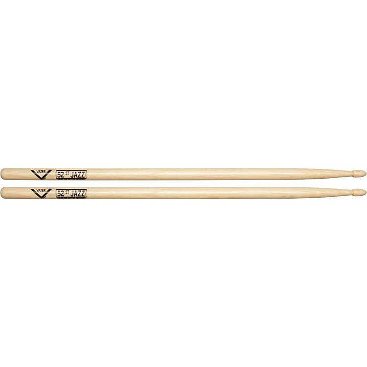 Vater American Hickory 52nd St. Jazz Drumsticks  Wood