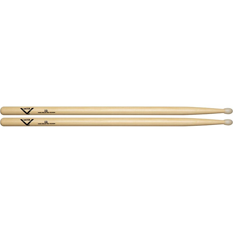 VaterAmerican Hickory 5B Drum SticksNylon
