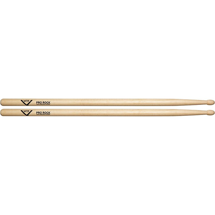 Vater American Hickory Pro Rock Drum Sticks  Wood