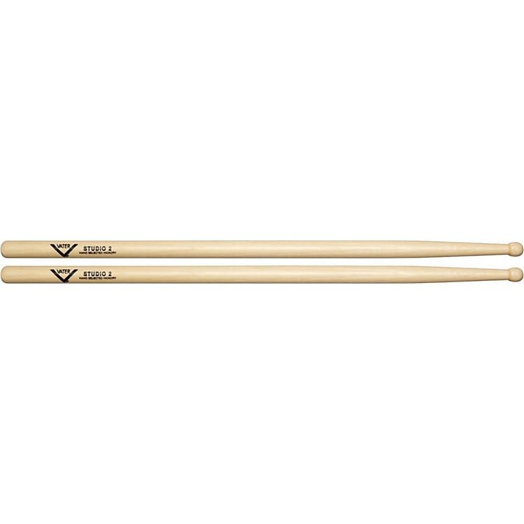 VaterAmerican Hickory Studio 2 DrumsticksWood