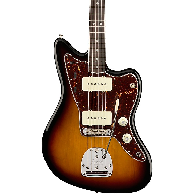 Fender American Original '60s Jazzmaster Rosewood Fingerboard Electric Guitar Olympic White