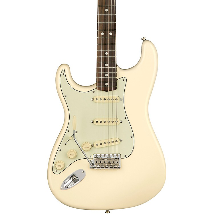 Fender American Original '60s Stratocaster Left-Handed Rosewood Fingerboard Electric Guitar Olympic White