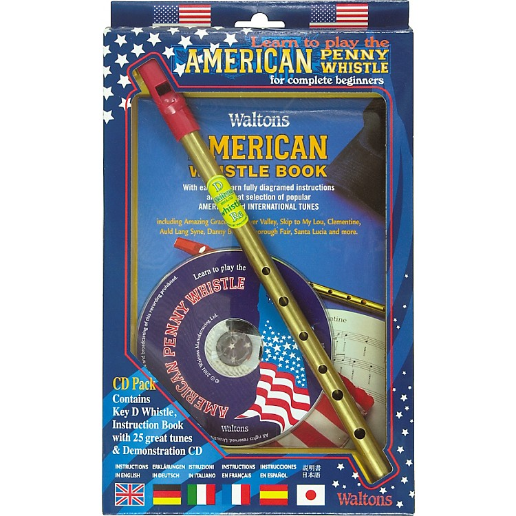 WaltonsAmerican Penny Whistle CD Pack