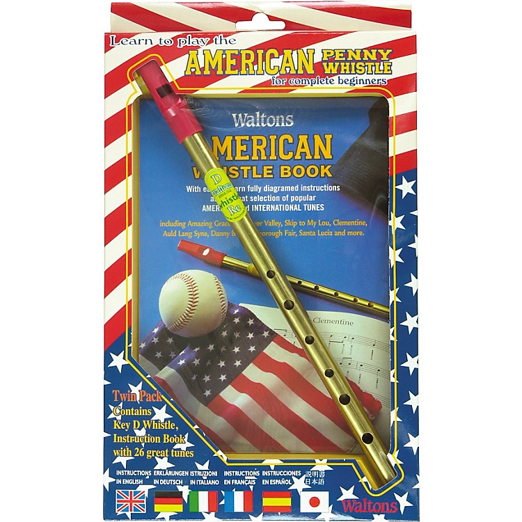 WaltonsAmerican Penny Whistle Value Pack