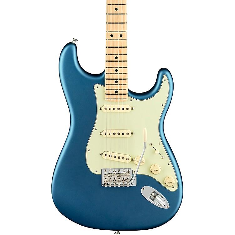 FenderAmerican Performer Stratocaster Maple Fingerboard Electric GuitarSatin Lake Placid Blue