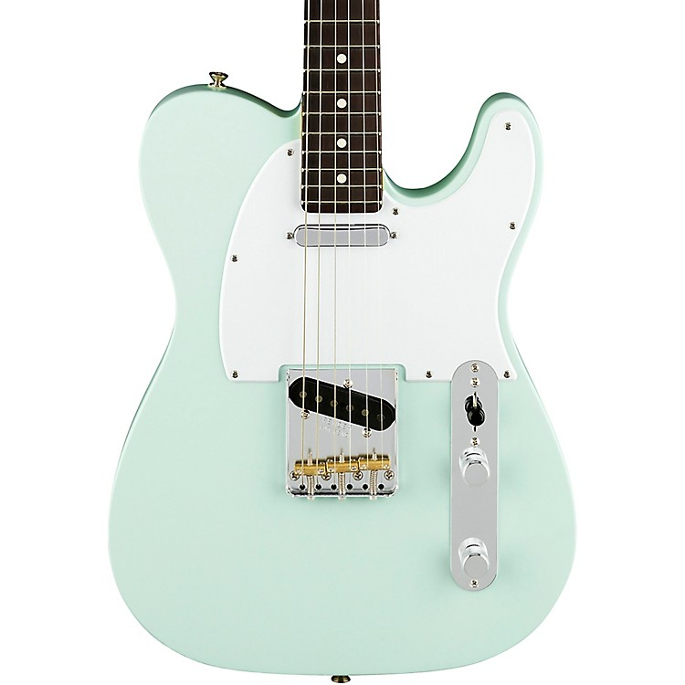 Fender American Performer Telecaster Rosewood Fingerboard Electric Guitar Satin Sonic Blue