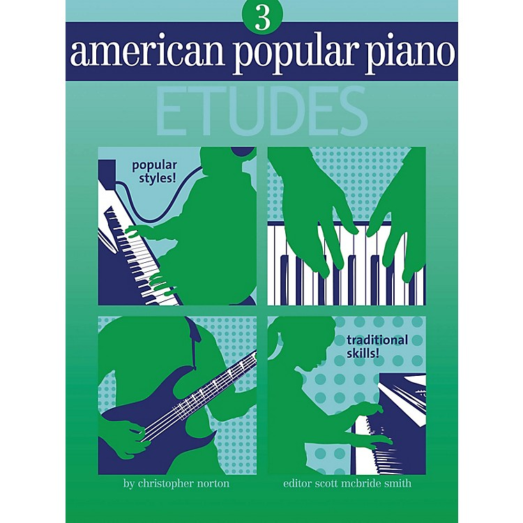 Novus ViaAmerican Popular Piano - Etudes Novus Via Music Group Series Softcover Written by Christopher Norton