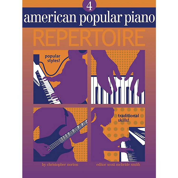 Novus ViaAmerican Popular Piano - Repertoire Novus Via Music Group Series Softcover with CD by Christopher Norton