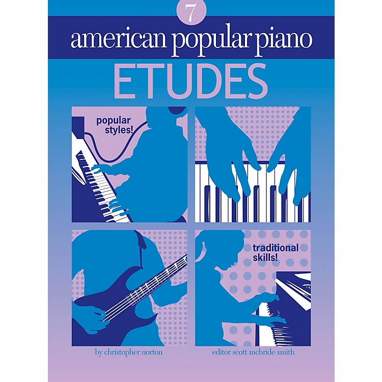 Novus ViaAmerican Popular Piano (Etudes Level 7) Novus Via Music Group Series Softcover by Christopher Norton