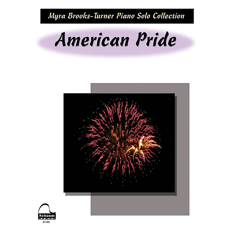 SCHAUM American Pride Educational Piano Series Softcover
