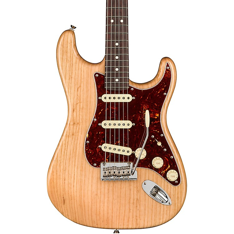 Fender American Professional Ash Stratocaster Rosewood Neck Limited-Edition Electric Guitar Natural