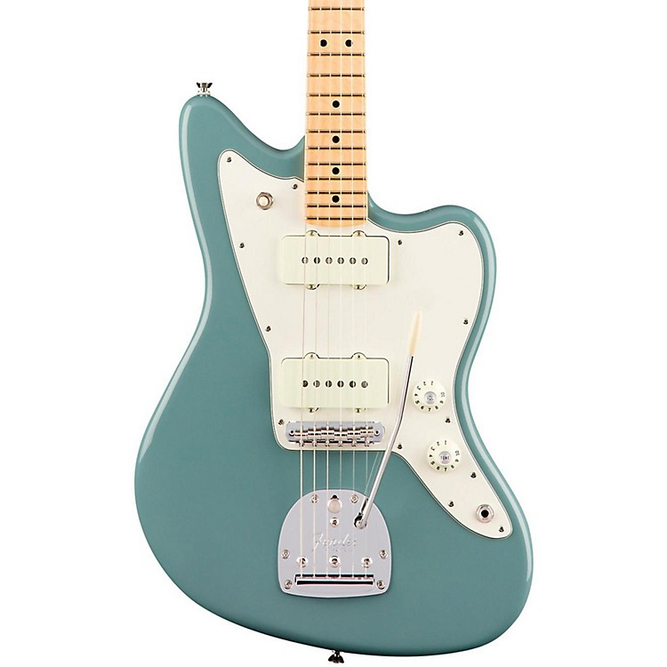 Fender American Professional Jazzmaster Maple Fingerboard Electric Guitar Sonic Gray