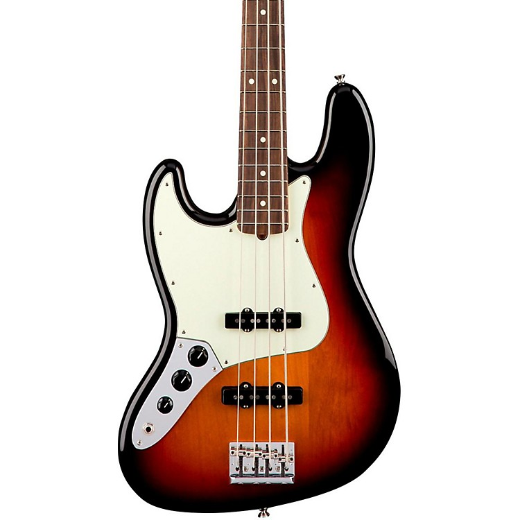 Fender American Professional Left-Handed Jazz Bass Rosewood Fingerboard 3-Color Sunburst