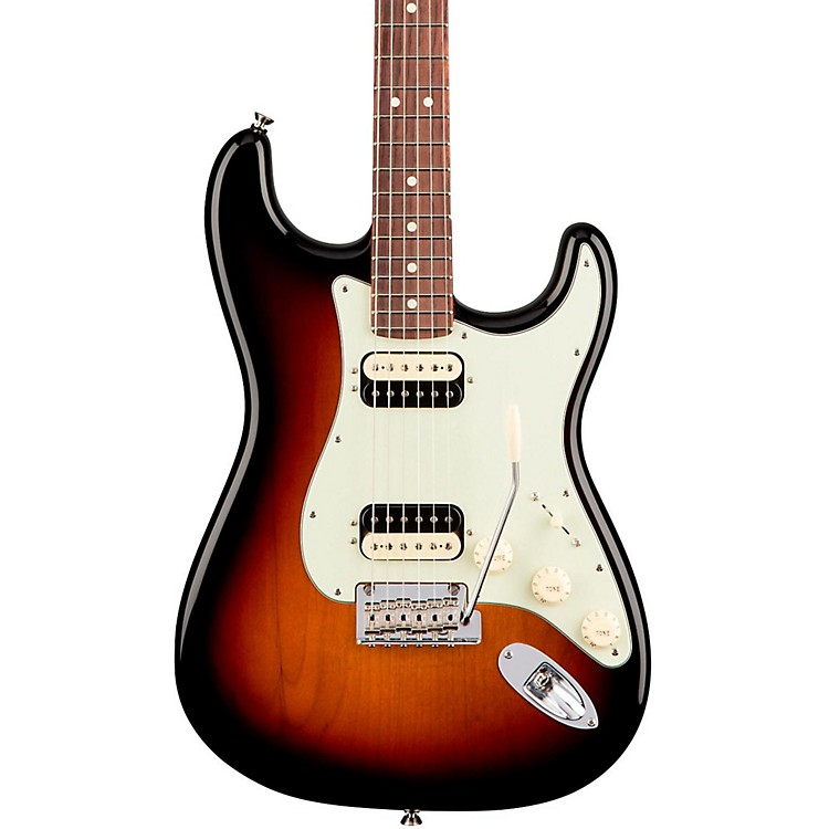 Fender American Professional Stratocaster HH Shawbucker Rosewood Fingerboard Sonic Gray