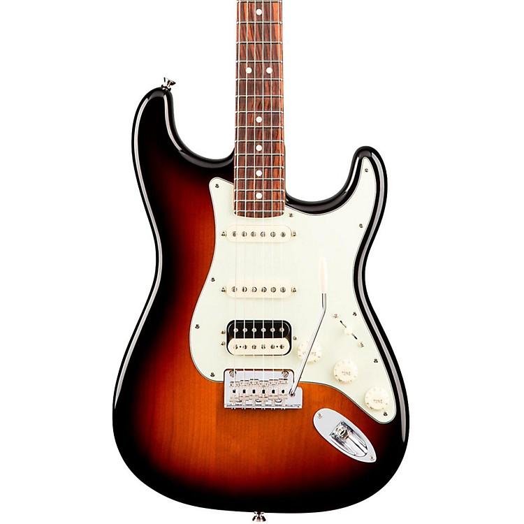 FenderAmerican Professional Stratocaster HSS Shawbucker Rosewood Fingerboard Electric GuitarAntique Olive