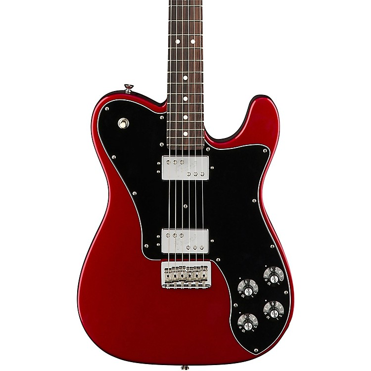 FenderAmerican Professional Telecaster Deluxe Shawbucker Rosewood Fingerboard Electric GuitarCandy Apple Red