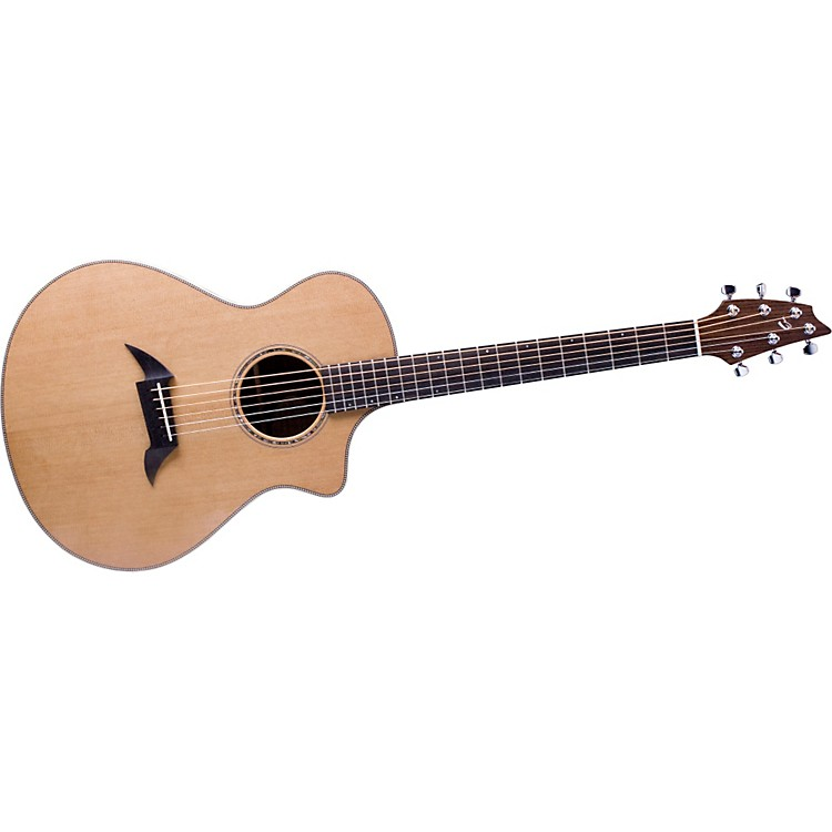 Breedlove American Series C25/CRe, Herringbone Acoustic-Electric Guitar Gloss 886830699160