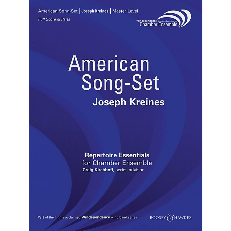 Boosey and HawkesAmerican Song-Set Windependence Chamber Ensemble Series by Joseph Kreines