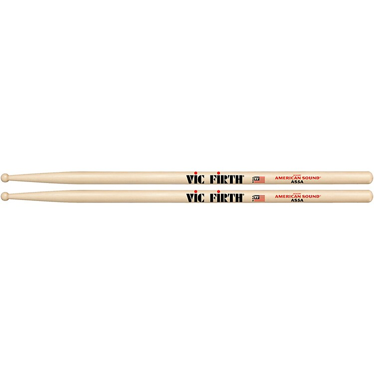vic firth american sound hickory drumsticks wood 5a music123. Black Bedroom Furniture Sets. Home Design Ideas