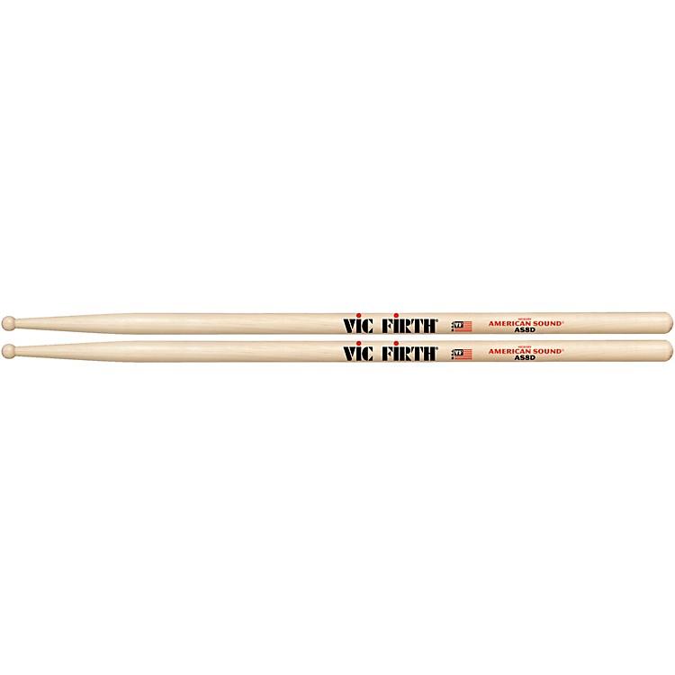 Vic FirthAmerican Sound Hickory DrumsticksWood8D