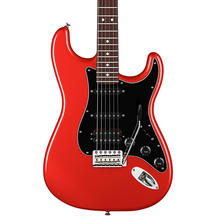 FenderAmerican Special HSS Stratocaster Electric GuitarCandy Apple RedRosewood