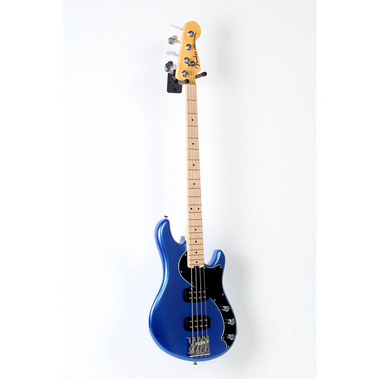 Fender American Standard HH Dimension Bass IV Maple Fingerboard Electric Bass Guitar Ocean Blue Metallic 888365804101