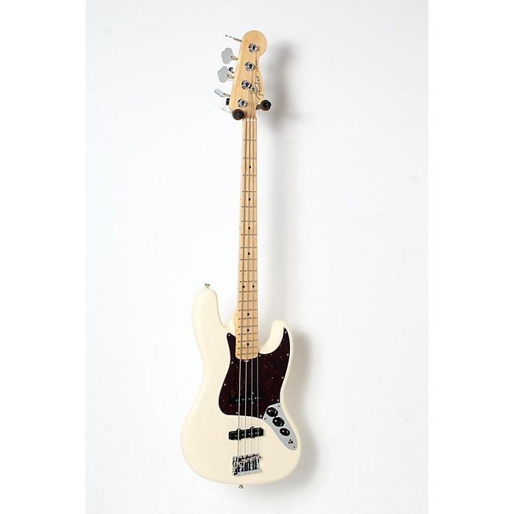 FenderAmerican Standard Jazz Bass with Maple FingerboardOlympic White, Maple Fingerboard888365835778