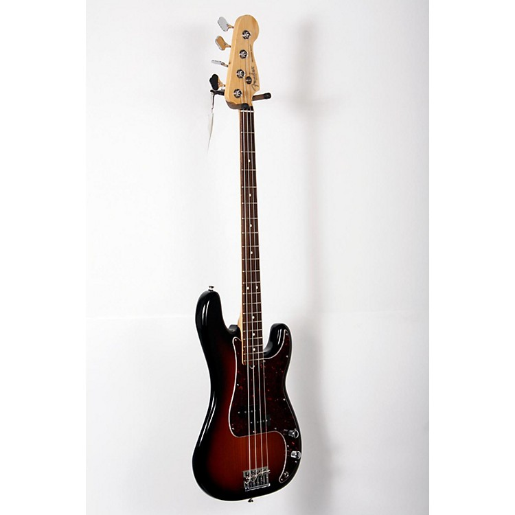 Fender American Standard Precision Bass with Rosewood Fingerboard 3-Color Sunburst,  Rosewood Fingerboard 888365826615