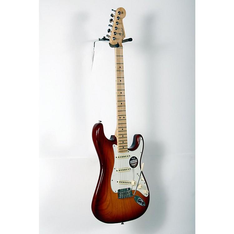 FenderAmerican Standard Stratocaster Electric GuitarSienna Sunburst, Maple Fingerboard888365916217
