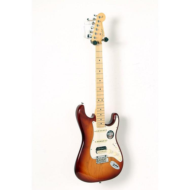 FenderAmerican Standard Stratocaster HSS Shawbucker Maple Fingerboard Electric GuitarSienna Sunburst888365907840
