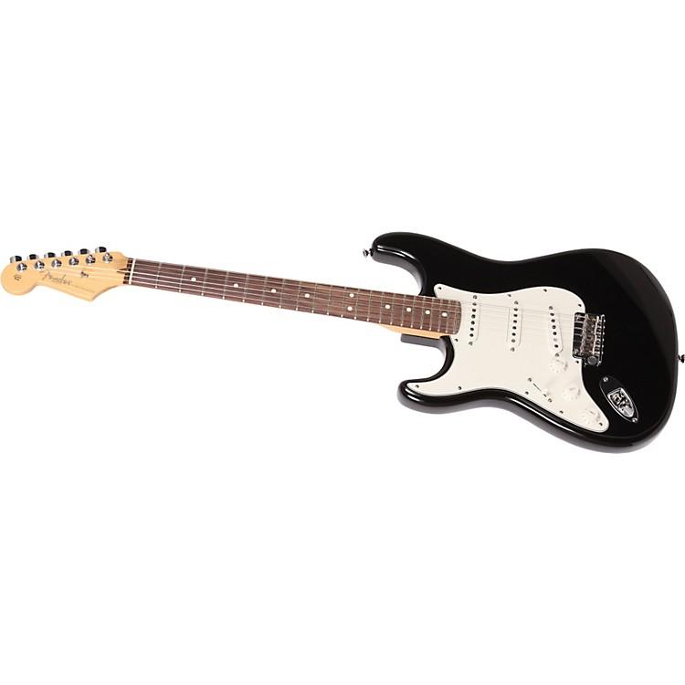 FenderAmerican Standard Stratocaster Left-Handed Electric GuitarBlackRosewood Fretboard