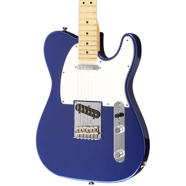 FenderAmerican Standard Telecaster Electric Guitar with Maple FingerboardMystic BlueMaple