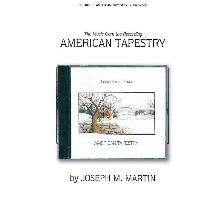 Shawnee PressAmerican Tapestry Shawnee Press Series Softcover with CD Arranged by Joseph Martin