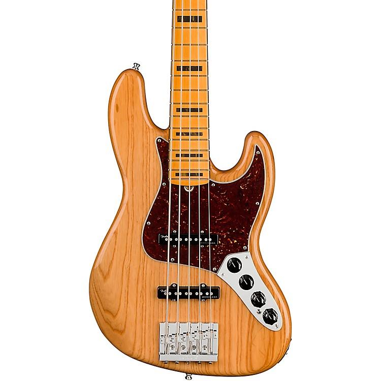 FenderAmerican Ultra Jazz Bass V 5-String Maple FingerboardAged Natural