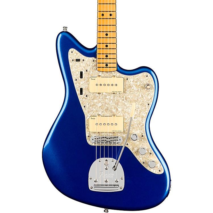 FenderAmerican Ultra Jazzmaster Maple Fingerboard Electric GuitarCobra Blue