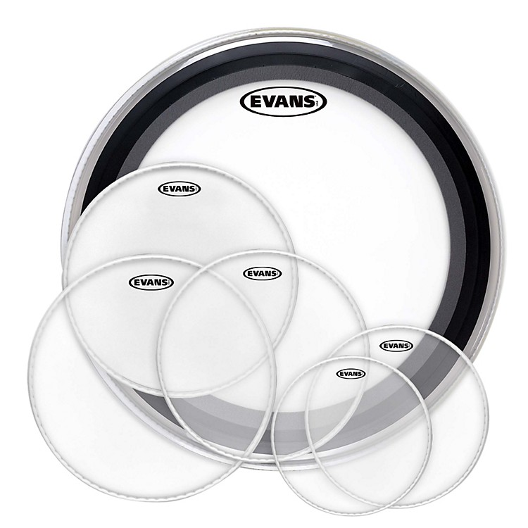 Evans American Upgrade Drumhead Pack with EMADs