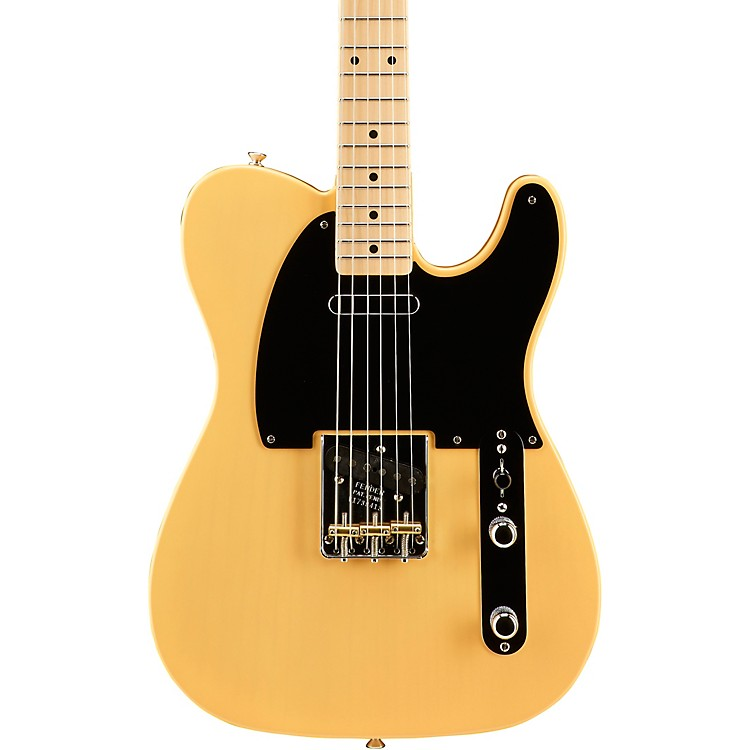 Fender American Vintage '52 Telecaster Electric Guitar Butterscotch Blonde,Maple Neck 888365898636