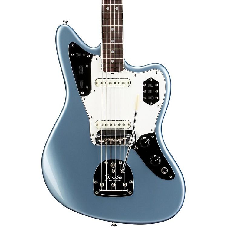 FenderAmerican Vintage '65 Jaguar Electric GuitarIce Blue MetallicRosewood Fingerboard