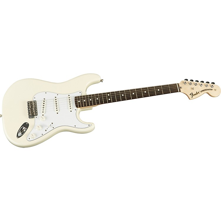 Fender American Vintage Series '70s Stratocaster Reissue Electric Guitar Olympic White Rosewood Fretboard
