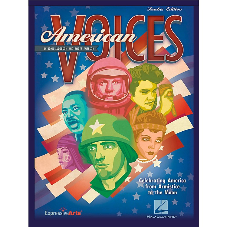 Hal Leonard American Voices: Celebrating America from Armistice to the Moon - Performance Kit with CD