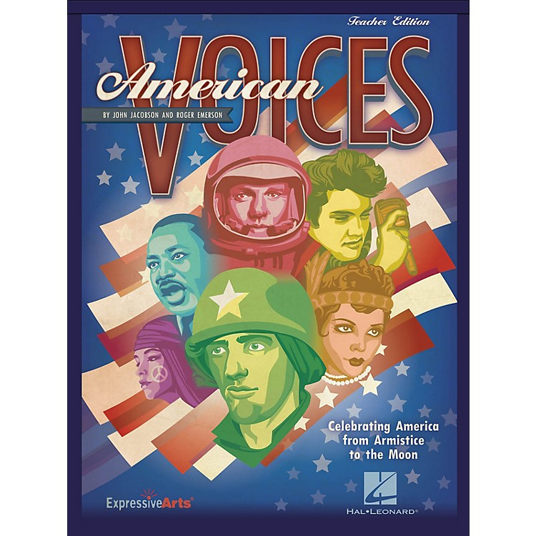Hal LeonardAmerican Voices (Celebrating America from Armistice to the Moon) PREV CD Composed by John Jacobson