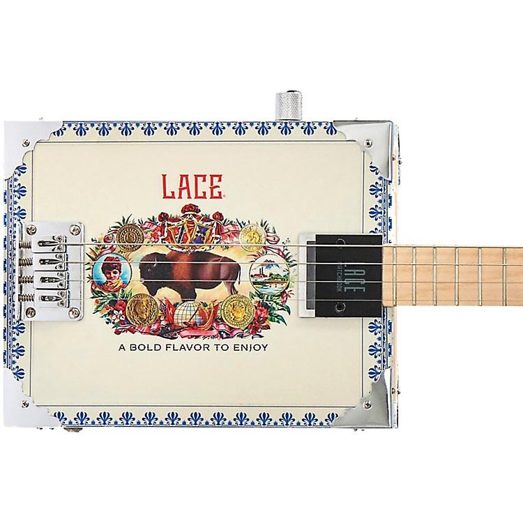 LaceAmericana Acoustic-Electric Cigar Box Guitar4 string